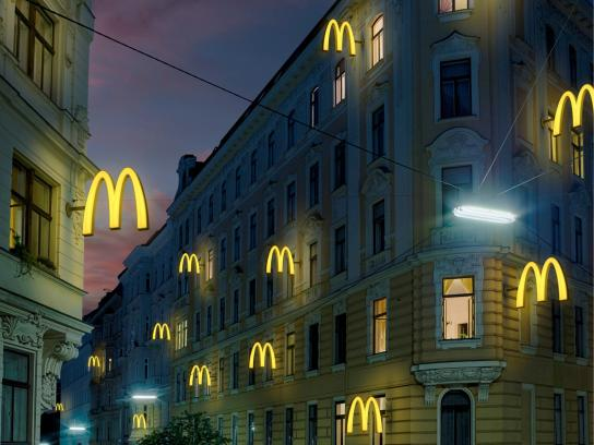 McDonald's Print Ad -  McDelivery