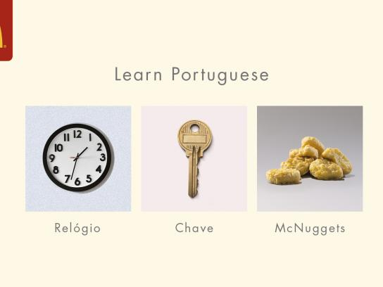 McDonald's Outdoor Ad - Portuguese