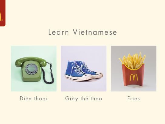 McDonald's Outdoor Ad - Vietnamese