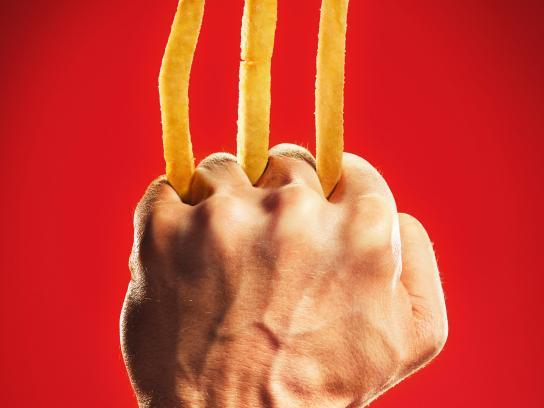 McDonald's Print Ad - Wolverine