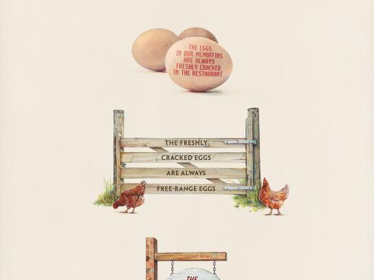 McDonald's Print Ad -  Egg
