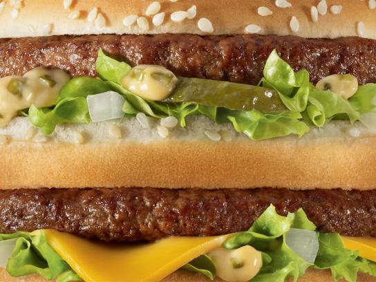 McDonald's Print Ad -  Unbranded, Big Mac
