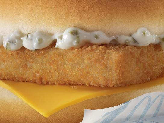 McDonald's Print Ad -  Unbranded, Filet-O-Fish