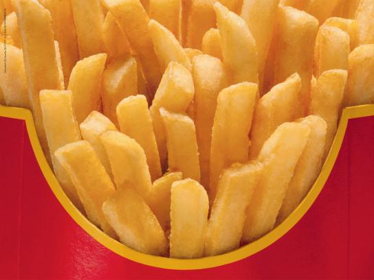 McDonald's Print Ad -  Unbranded, French Fries