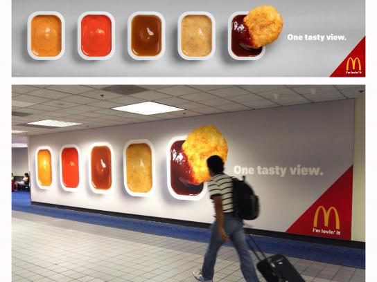 McDonald's Outdoor Ad - One tasty view