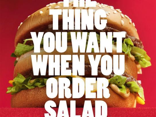 McDonald's Print Ad -  The thing