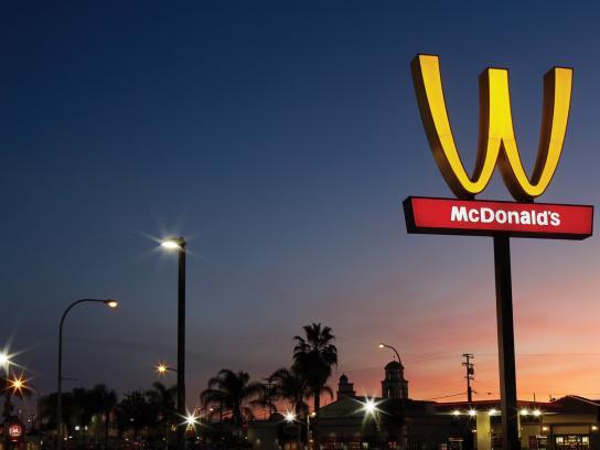 McDonald's Outdoor Ad - The Flip