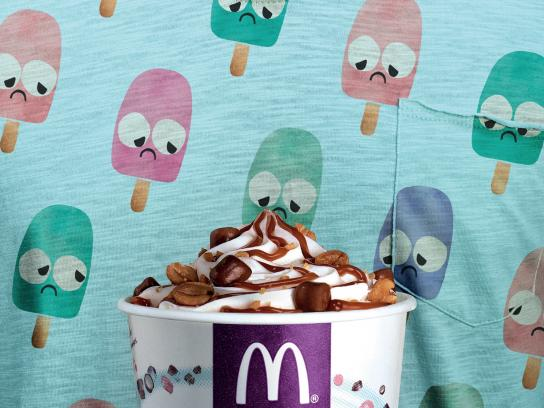 McDonald's Outdoor Ad - McFlurry