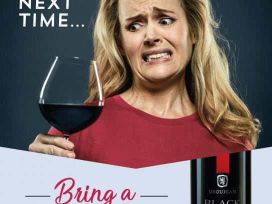 McGuigan Wines Print Ad - Awkward Moments, 3