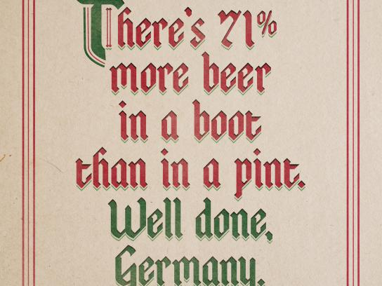 McGuinness Irish Pub Outdoor Ad - Well Done, Germany