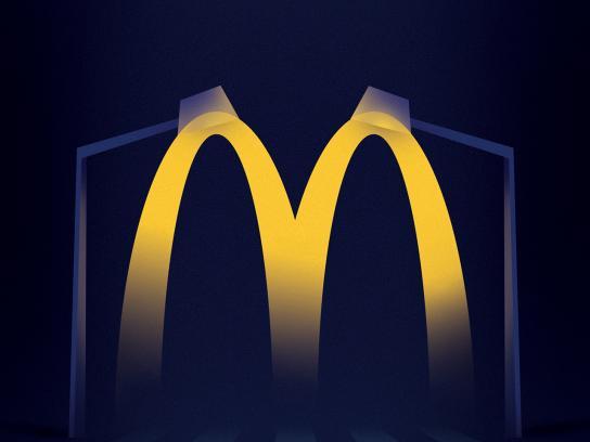 McDonald's Print Ad - McLights - Lamps