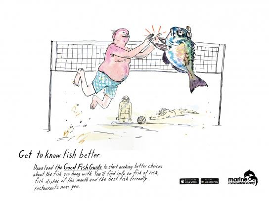 Marine Conservation Society Print Ad -  Get to know fish better, 3