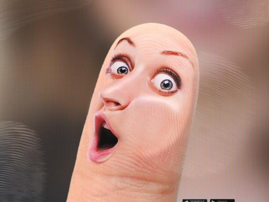 Mexico Design Print Ad - Finger