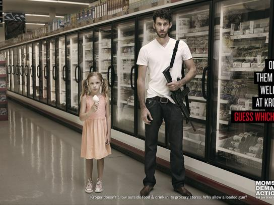 Moms Demand Action For Gun Sense In America Print Ad -  Ice cream