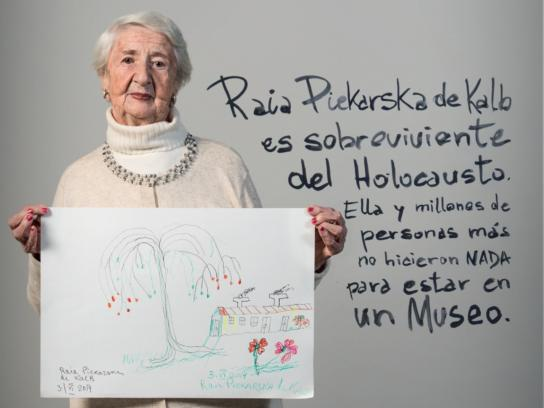 Museo del Holocausto Print Ad -  A museum without art, 2