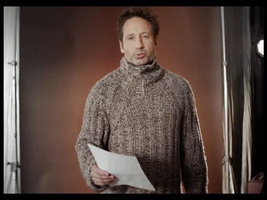 Sibirskaya Korona Film Ad -  David Duchovny - Russian