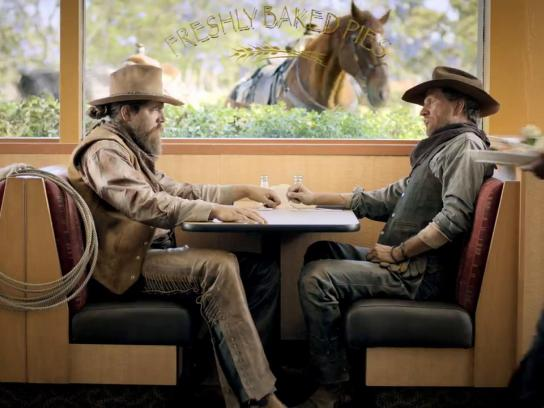 Coco's Bakery Film Ad -  Cowboys