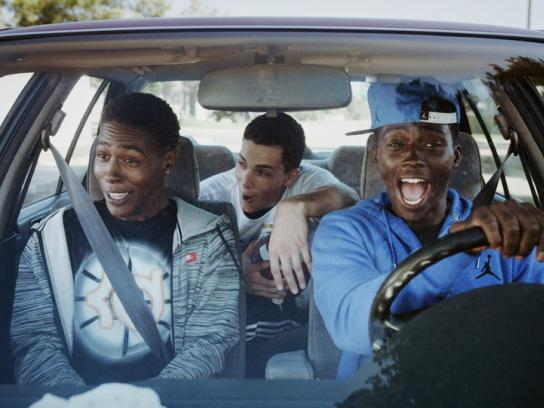 Champs Sports Film Ad -  Joy Ride