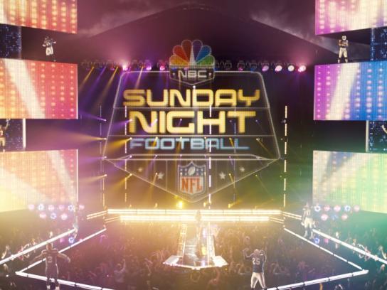 NBC Film Ad -  Sunday Night Football Open