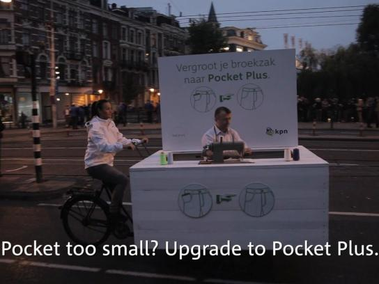 KPN Ambient Ad -  Supersize your pockets