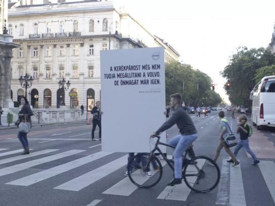 Volvo Ambient Ad -  Stillbike