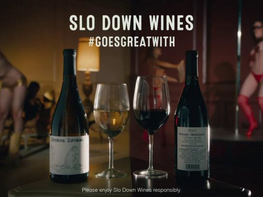 Slo Down Wines Film Ad -  Strippers/Vacuumers