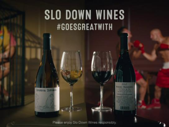 Slo Down Wines Film Ad -  Boxers/Furries