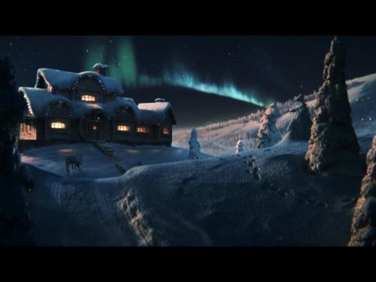 Saarioinen Film Ad -  Christmas morning at Santa's