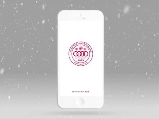 Audi Digital Ad -  Swedish Snow Rescuers