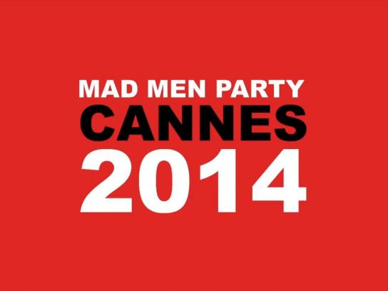 Cannes Mad Men Party