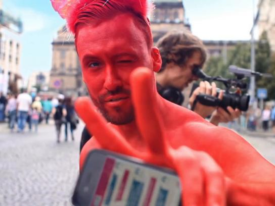 Prague Pride Ambient Ad -  LBGTAvatars
