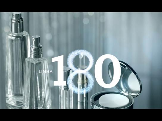 Avon Ambient Ad -  The 180 Makeup line
