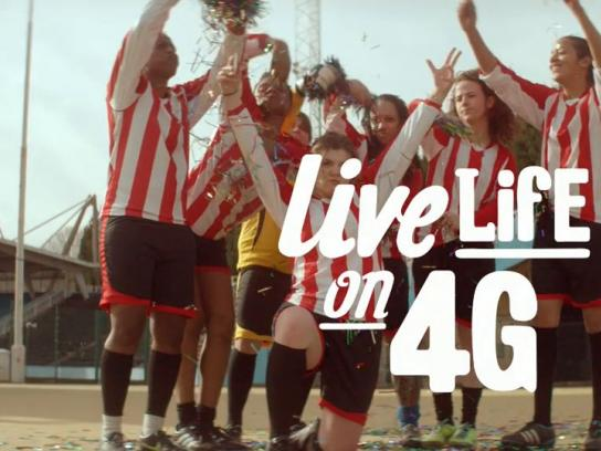 Vodafone Film Ad -  Let's go!