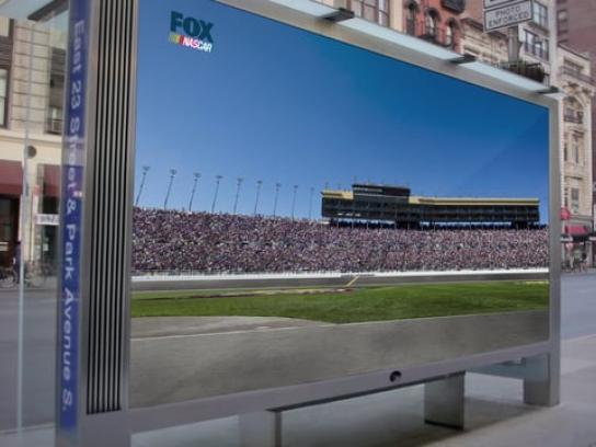 Nascar Outdoor Ad - Speedvertising