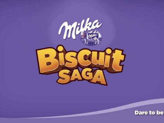 Milka Digital Ad -  Milka Biscuit Saga