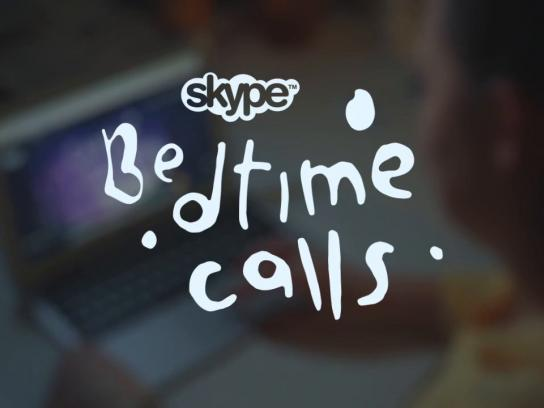 Skype Digital Ad -  Bedtime calls