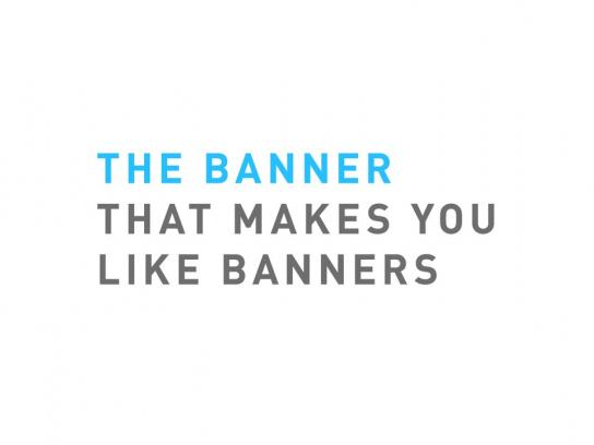 Post-it Brand Digital Ad -  The banner that makes you like banners
