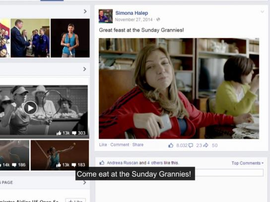 Vodafone Ambient Ad -  Sunday Grannies