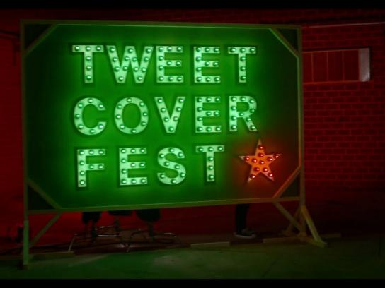 Heineken Digital Ad -  Tweet cover fest