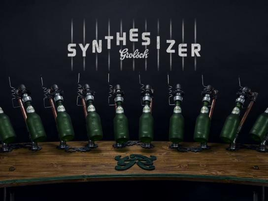Grolsch Digital Ad -  The Youtube Synthesizer
