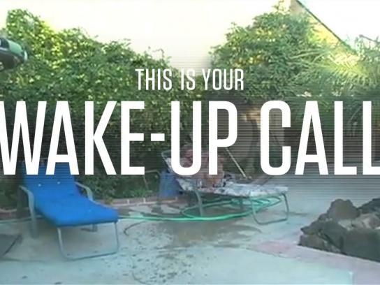 RIFT Digital Ad -  Wake-up call - water balloon