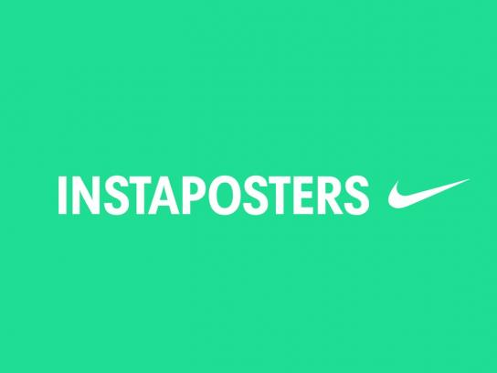 Nike Ambient Ad -  Instaposters
