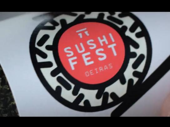 Sushi Fest Direct Ad -  Sushi Roll Magazine