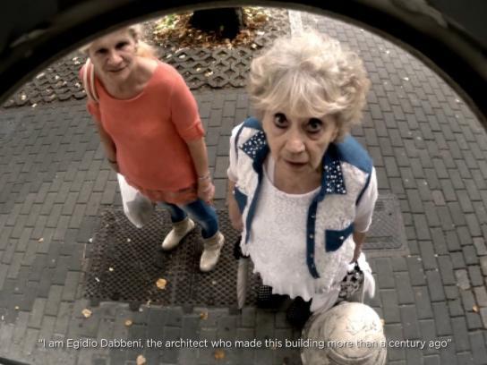 FAI Ambient Ad -  Open Doorbells - Intercom stories