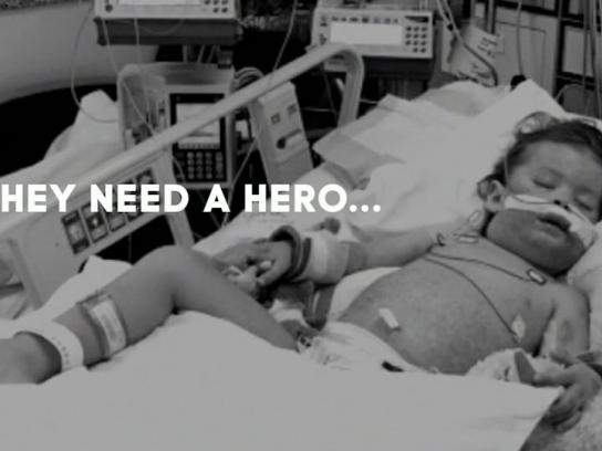 Be The Match Ambient Ad -  The hero gene