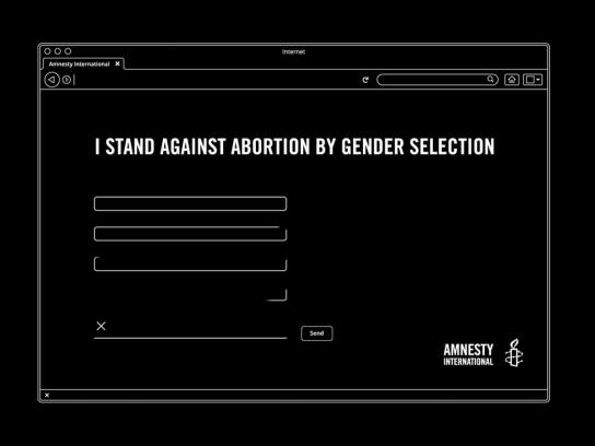 Amnesty International Digital Ad - The Lost Girls