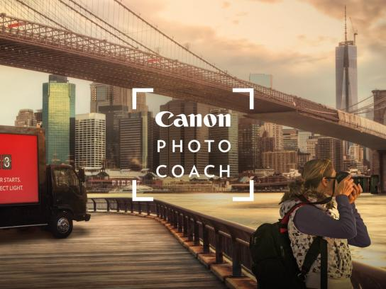 Canon Outdoor Ad - Photo coach
