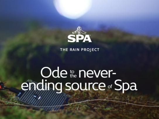 Spa Digital Ad -  The Rain Project