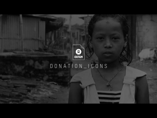 Oxfam Digital Ad -  Donation Icons