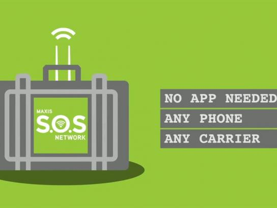 Maxis Direct Ad -  Maxis SOS Network